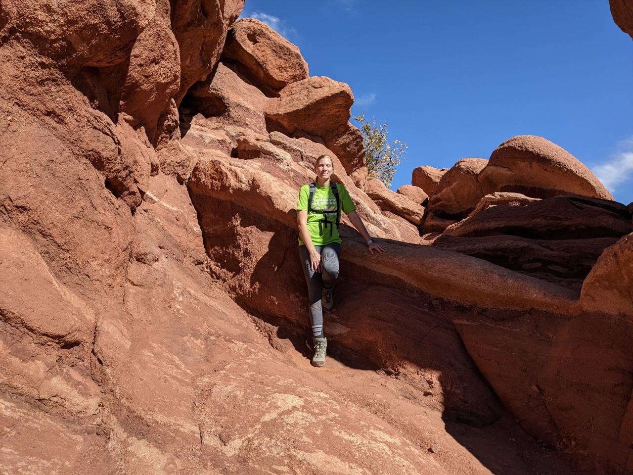 Amber Climbing Mountains